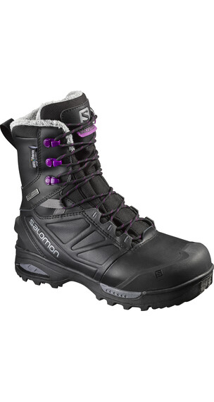 Salomon W's Toundra Pro CSWP Shoes Black/Black/Passion Purple